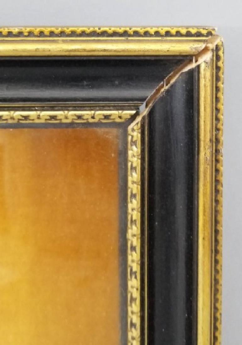 Shadow Box Framed Asian Black Lace Ladies' Fan - 4
