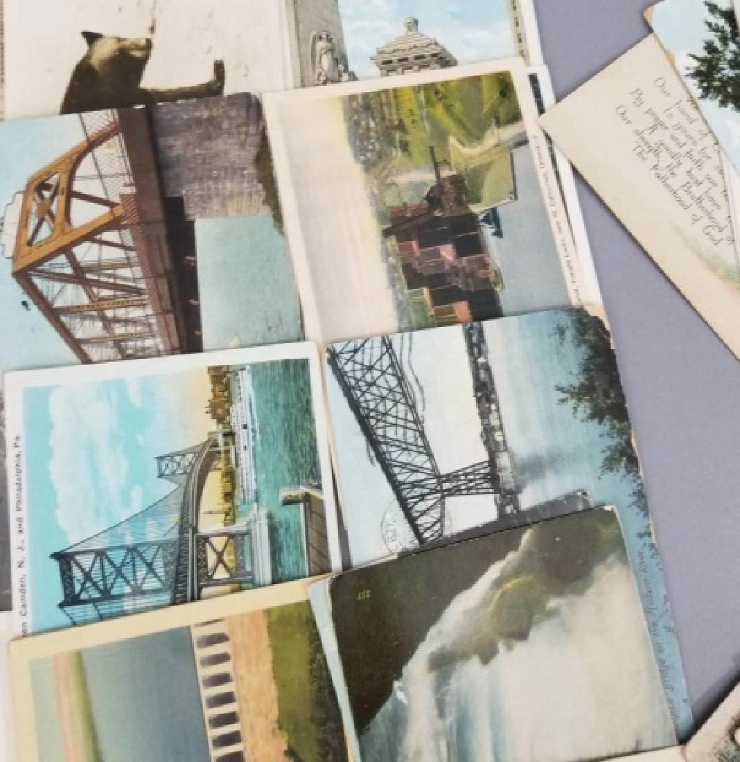 Group Antique & Vintage Post Cards Bridges Canals - 10