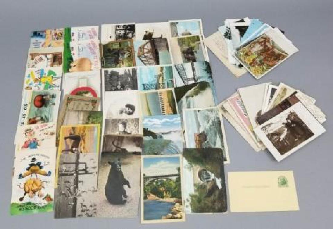Group Antique & Vintage Post Cards Bridges Canals