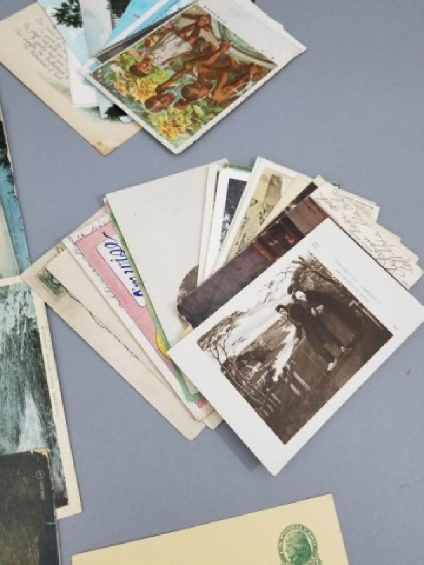 Group Antique & Vintage Post Cards Bridges Canals - 2