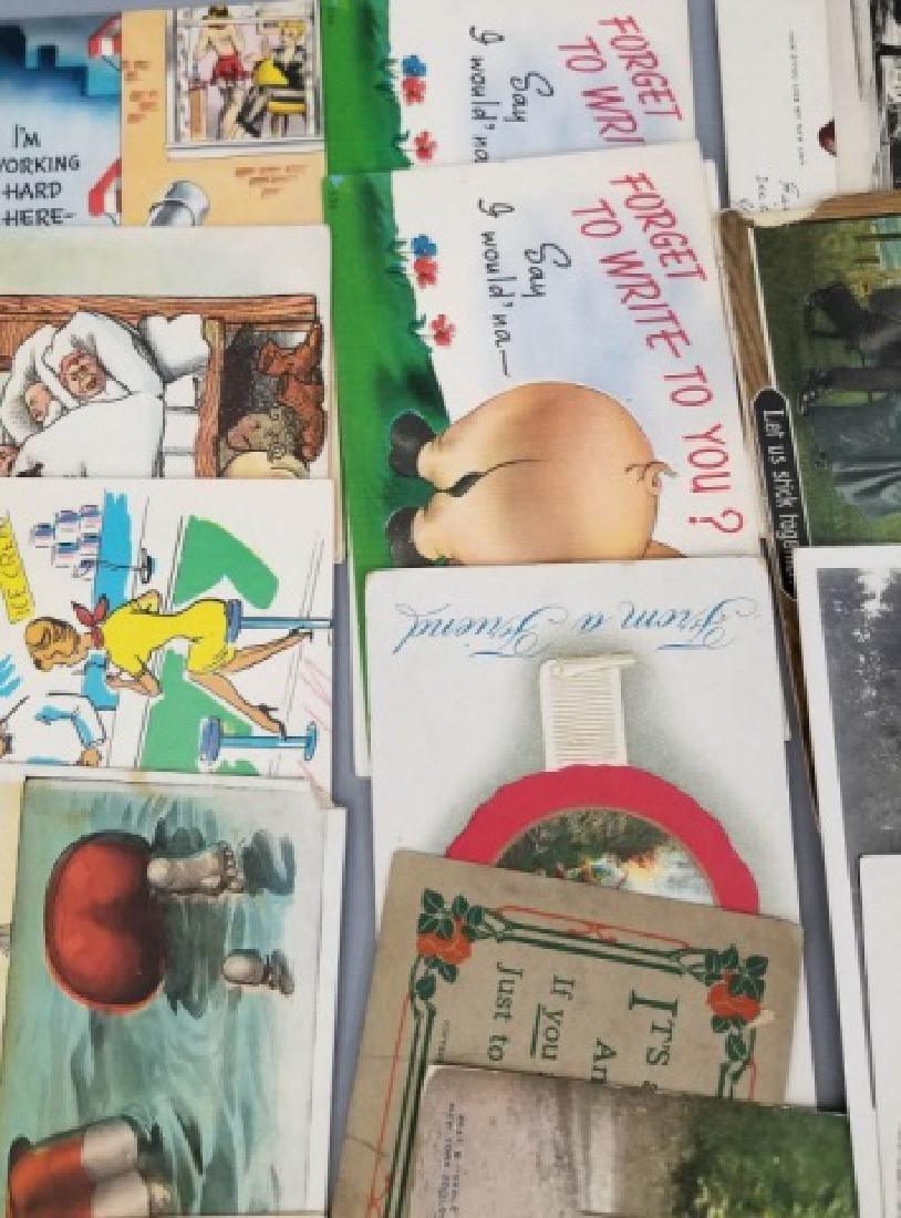 Group Antique & Vintage Post Cards Bridges Canals - 3
