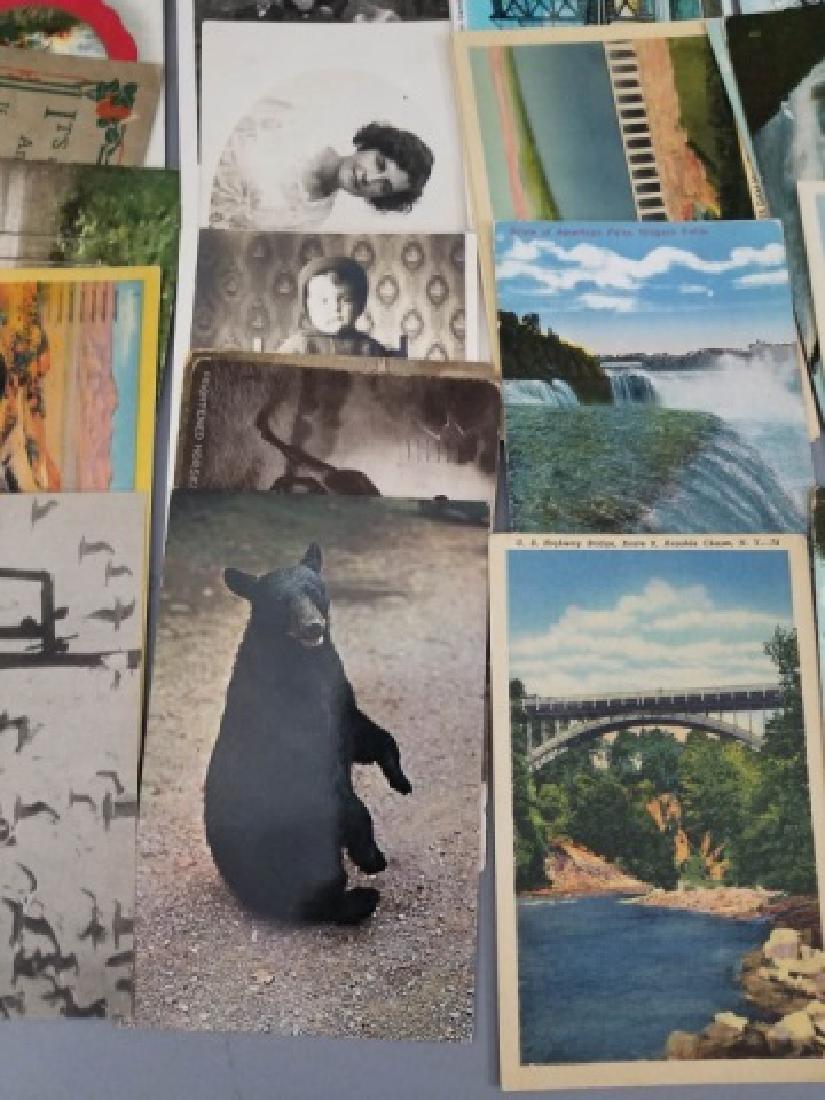 Group Antique & Vintage Post Cards Bridges Canals - 5