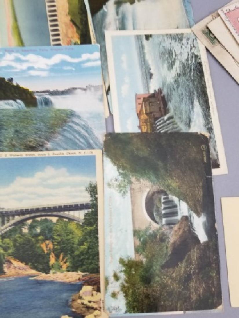 Group Antique & Vintage Post Cards Bridges Canals - 6