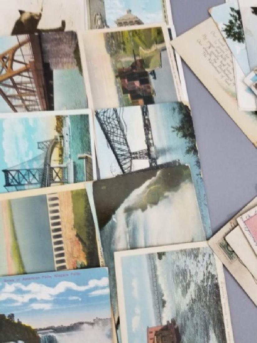 Group Antique & Vintage Post Cards Bridges Canals - 7