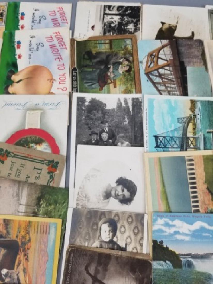 Group Antique & Vintage Post Cards Bridges Canals - 8