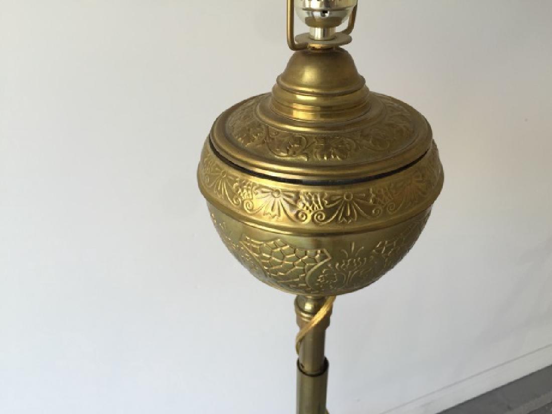 Antique 19th C Victorian Ormolu Floor Lamp - 2