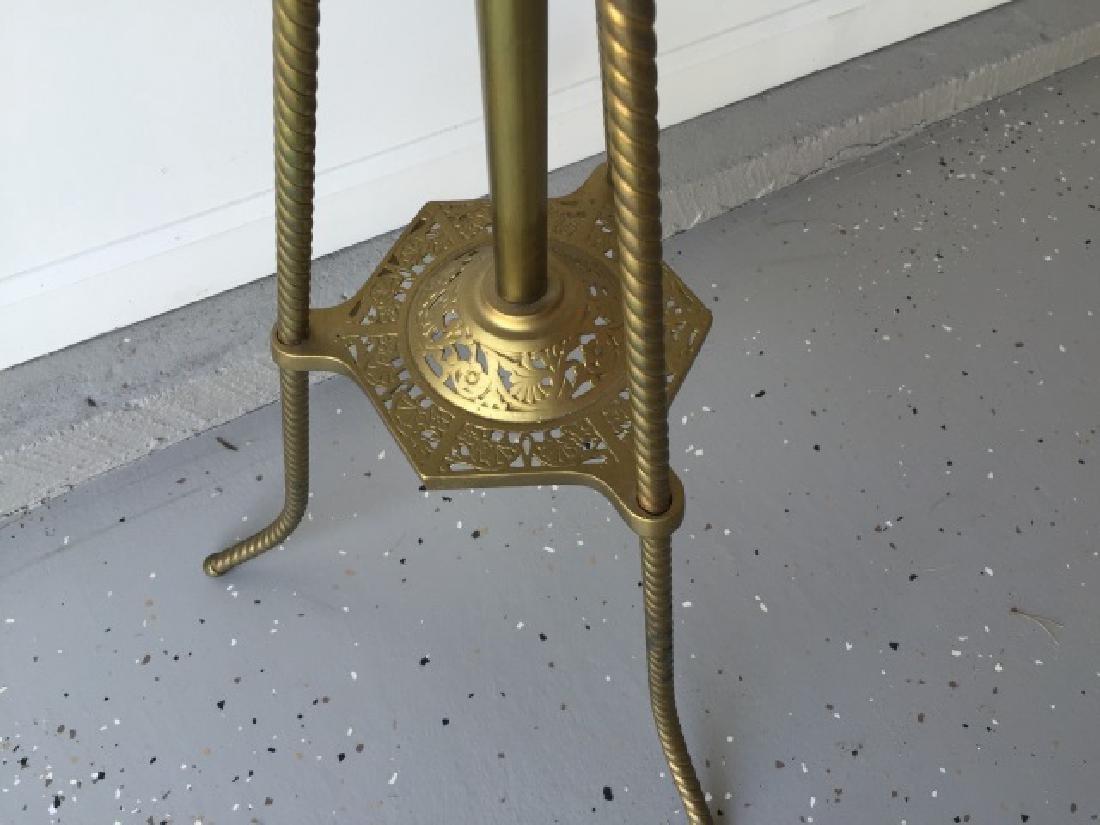 Antique 19th C Victorian Ormolu Floor Lamp - 4