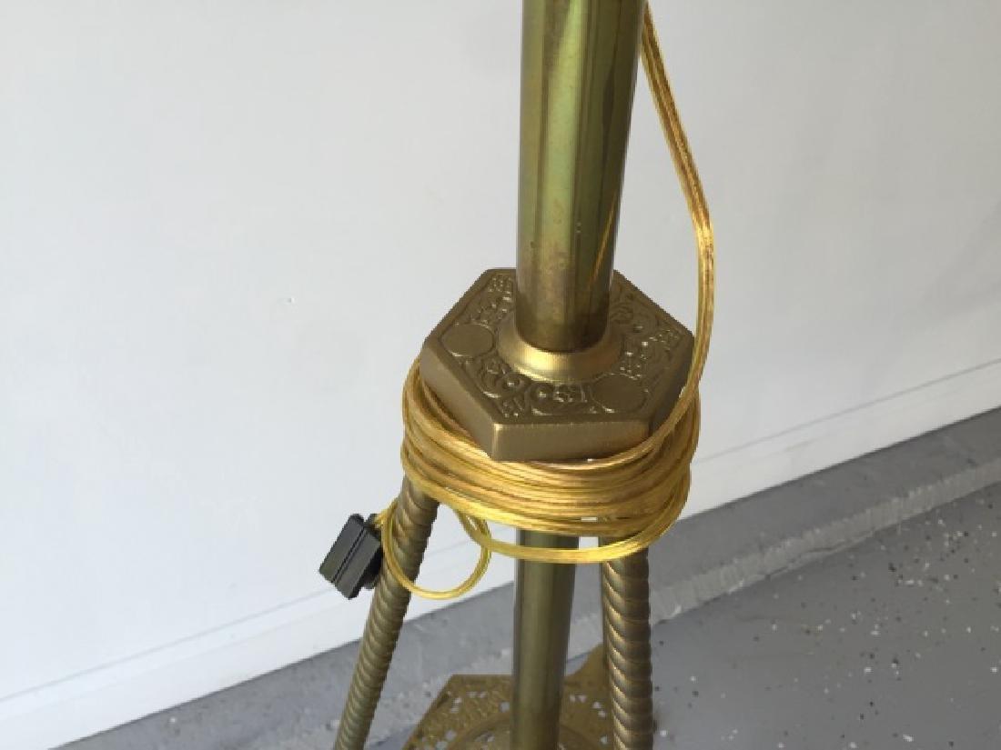 Antique 19th C Victorian Ormolu Floor Lamp - 5