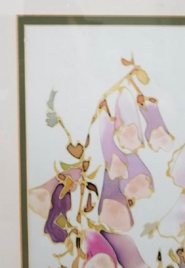 Hazel Burroughs Still Life Painting on Silk - 3