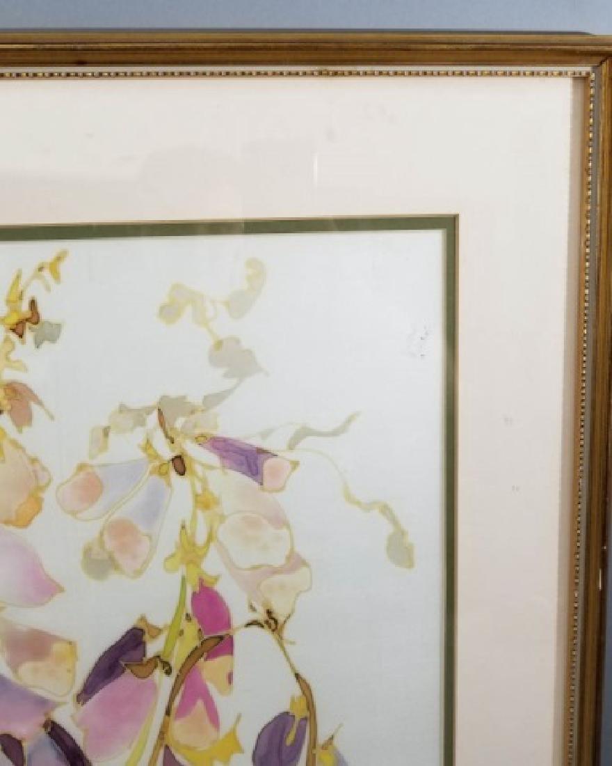 Hazel Burroughs Still Life Painting on Silk - 6