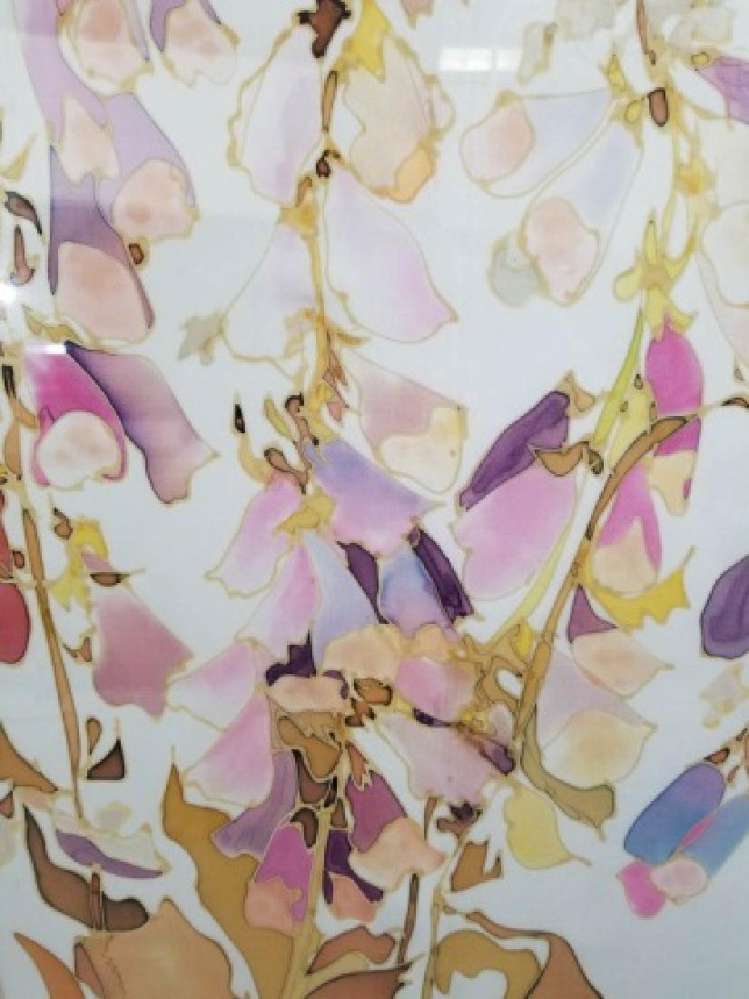 Hazel Burroughs Still Life Painting on Silk - 7
