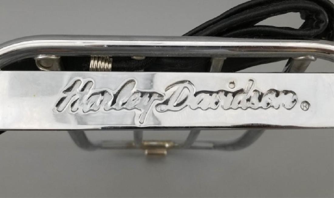 3 Vintage Harley-Davidson Items Luggage Rack Cards - 5