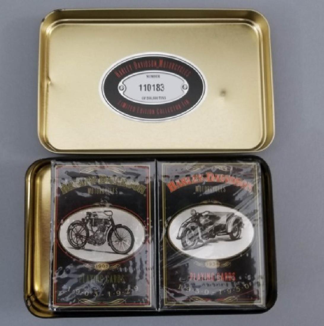 3 Vintage Harley-Davidson Items Luggage Rack Cards - 6