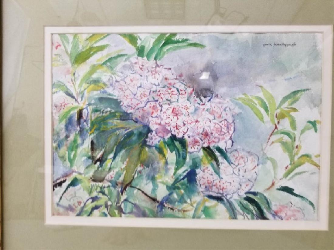2 Watercolor Paintings by Grace Huntley Pugh - 10