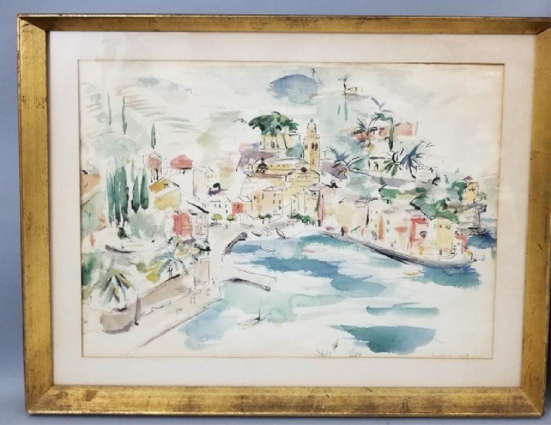 2 Watercolor Paintings by Grace Huntley Pugh - 3