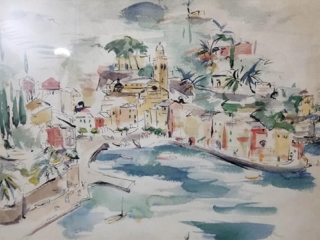 2 Watercolor Paintings by Grace Huntley Pugh - 6