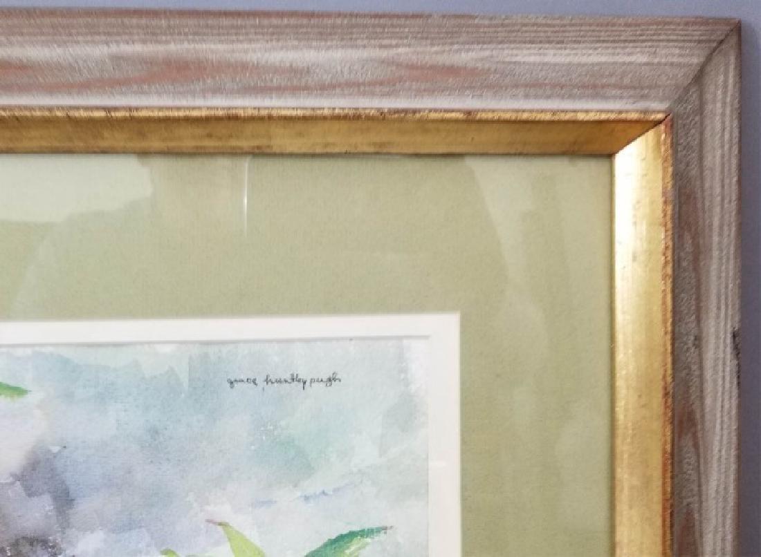 2 Watercolor Paintings by Grace Huntley Pugh - 8