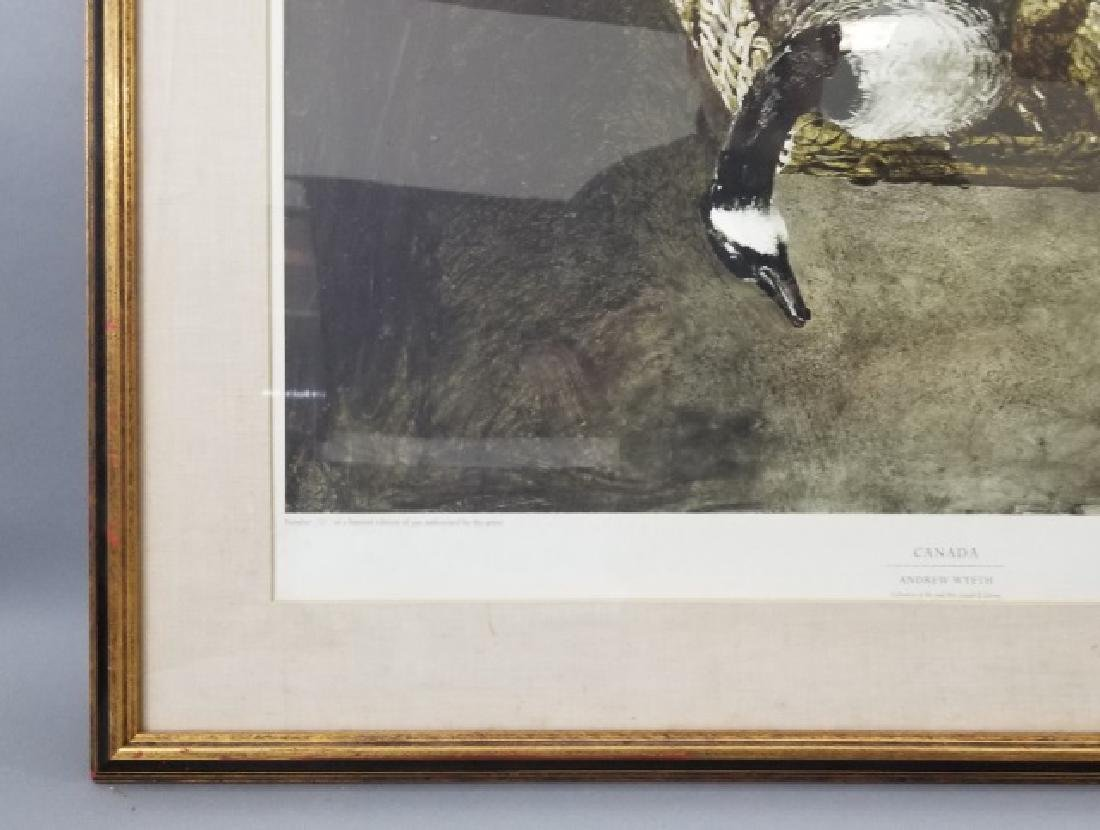 Andrew Wyeth Framed Artists' Proof - Canada - 4