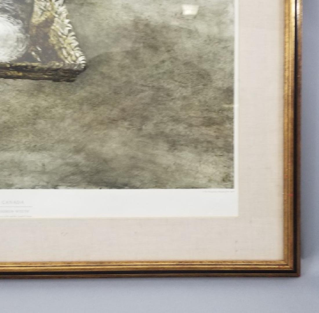 Andrew Wyeth Framed Artists' Proof - Canada - 5