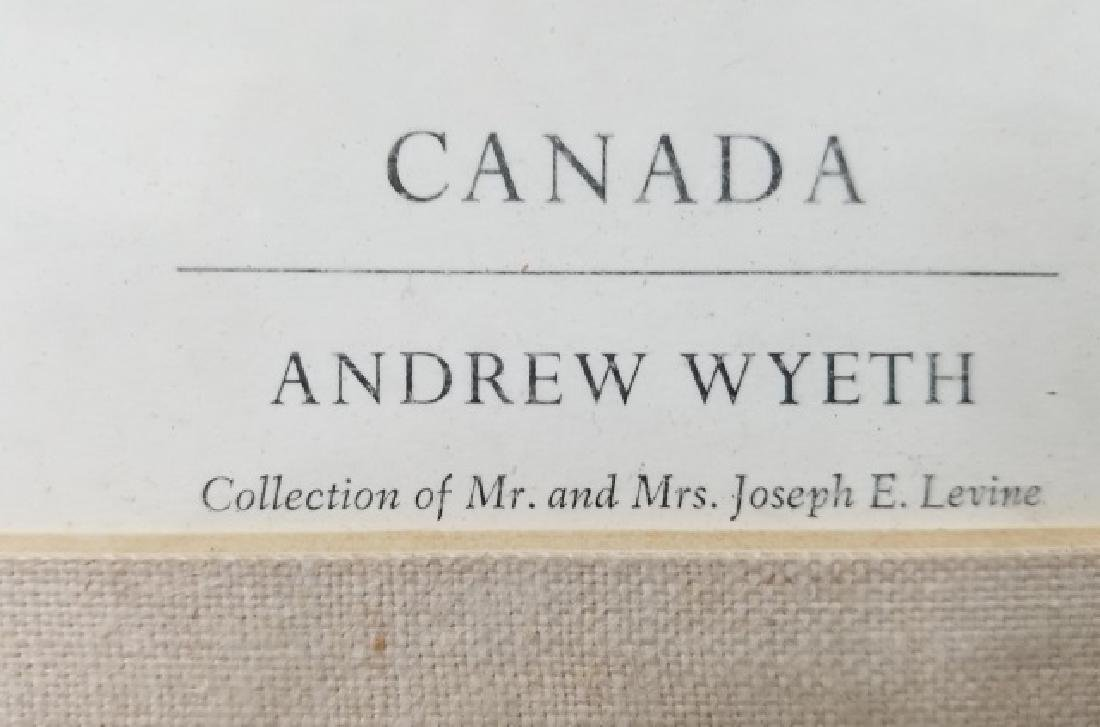 Andrew Wyeth Framed Artists' Proof - Canada - 7
