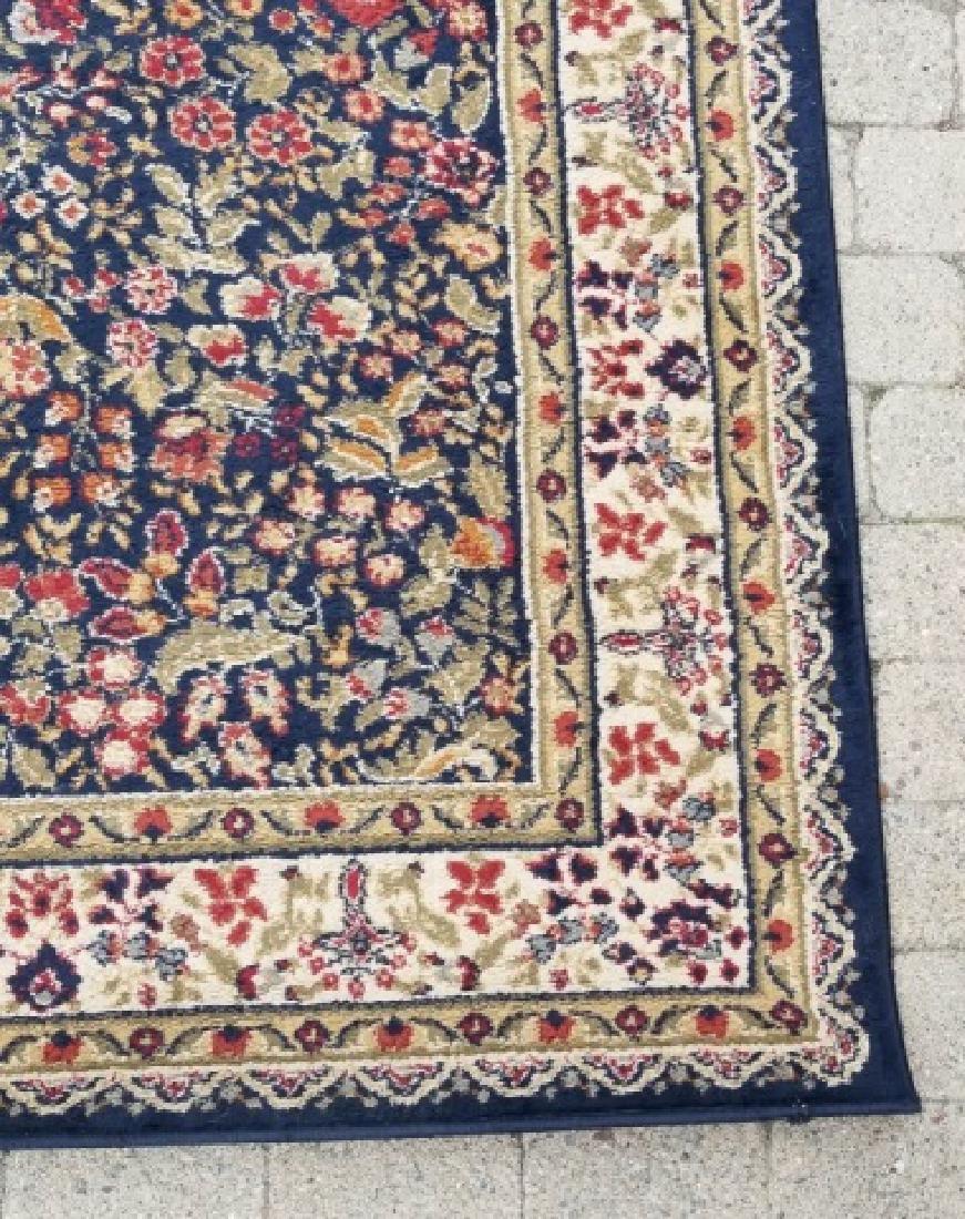 Large Oriental Style Wool Rug & Matching Doormat - 3