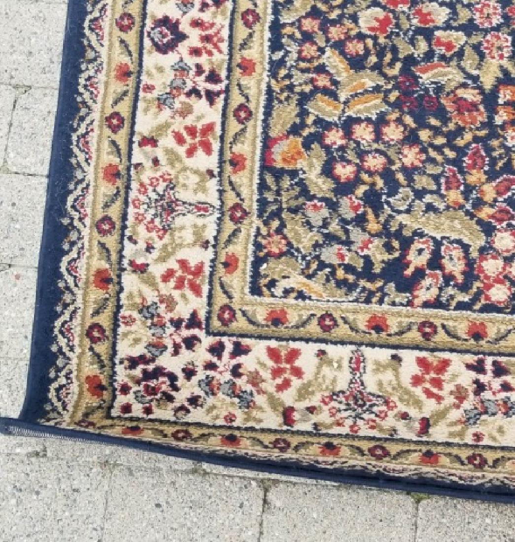 Large Oriental Style Wool Rug & Matching Doormat - 4