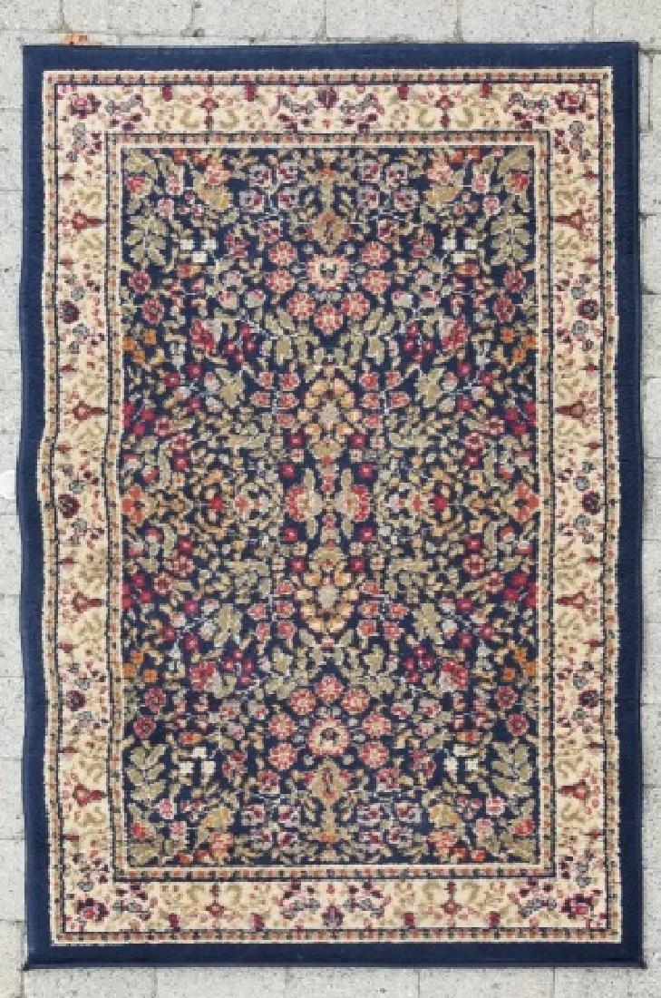 Large Oriental Style Wool Rug & Matching Doormat - 5