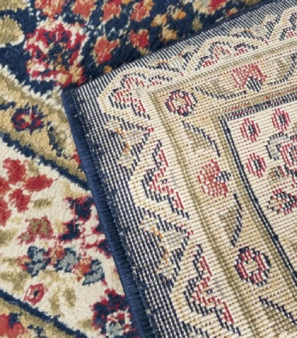 Large Oriental Style Wool Rug & Matching Doormat - 6
