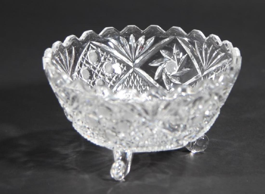 Assorted Vintage Glass & Cut Crystal Serving Items - 2