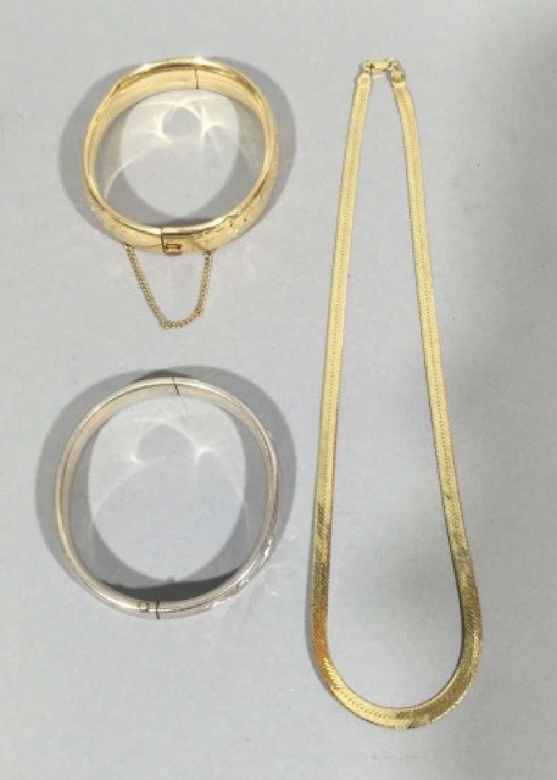 Group of Sterling, Vermeil & Gold Plated Jewelry