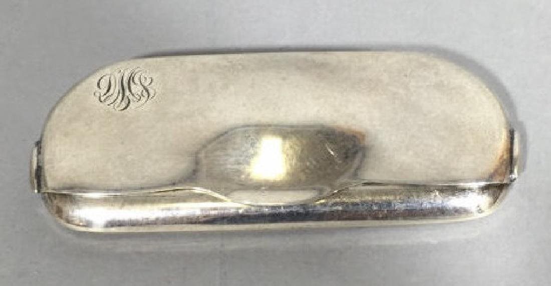 Antique Tiffany & Co Sterling Silver Glasses Case