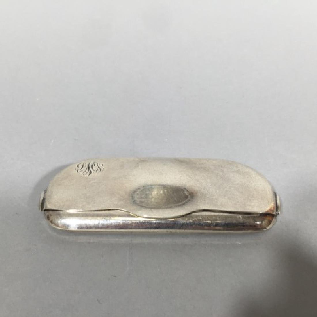 Antique Tiffany & Co Sterling Silver Glasses Case - 3