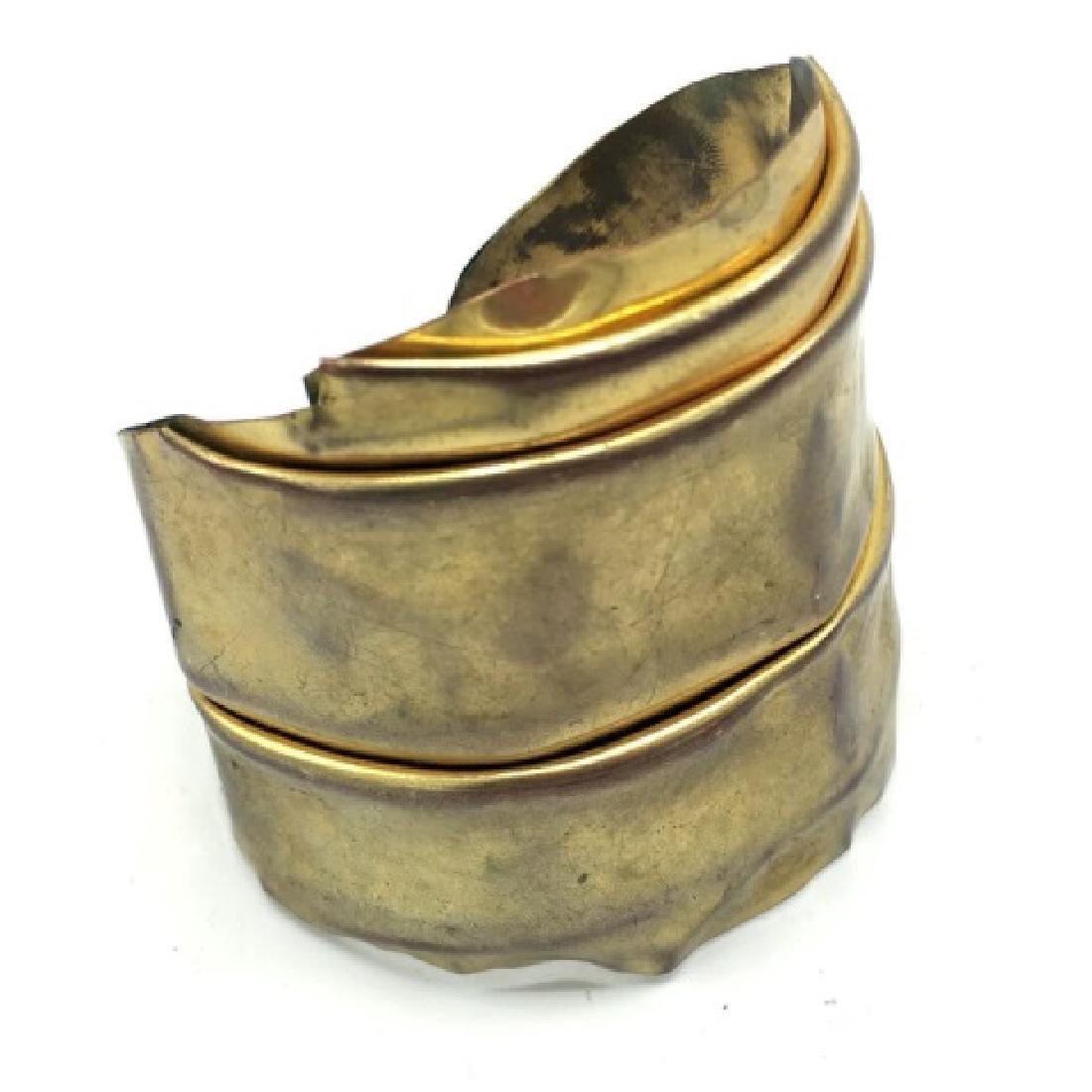 Costume Jewelry - Premier Etage Paris Gold Cuff - 2