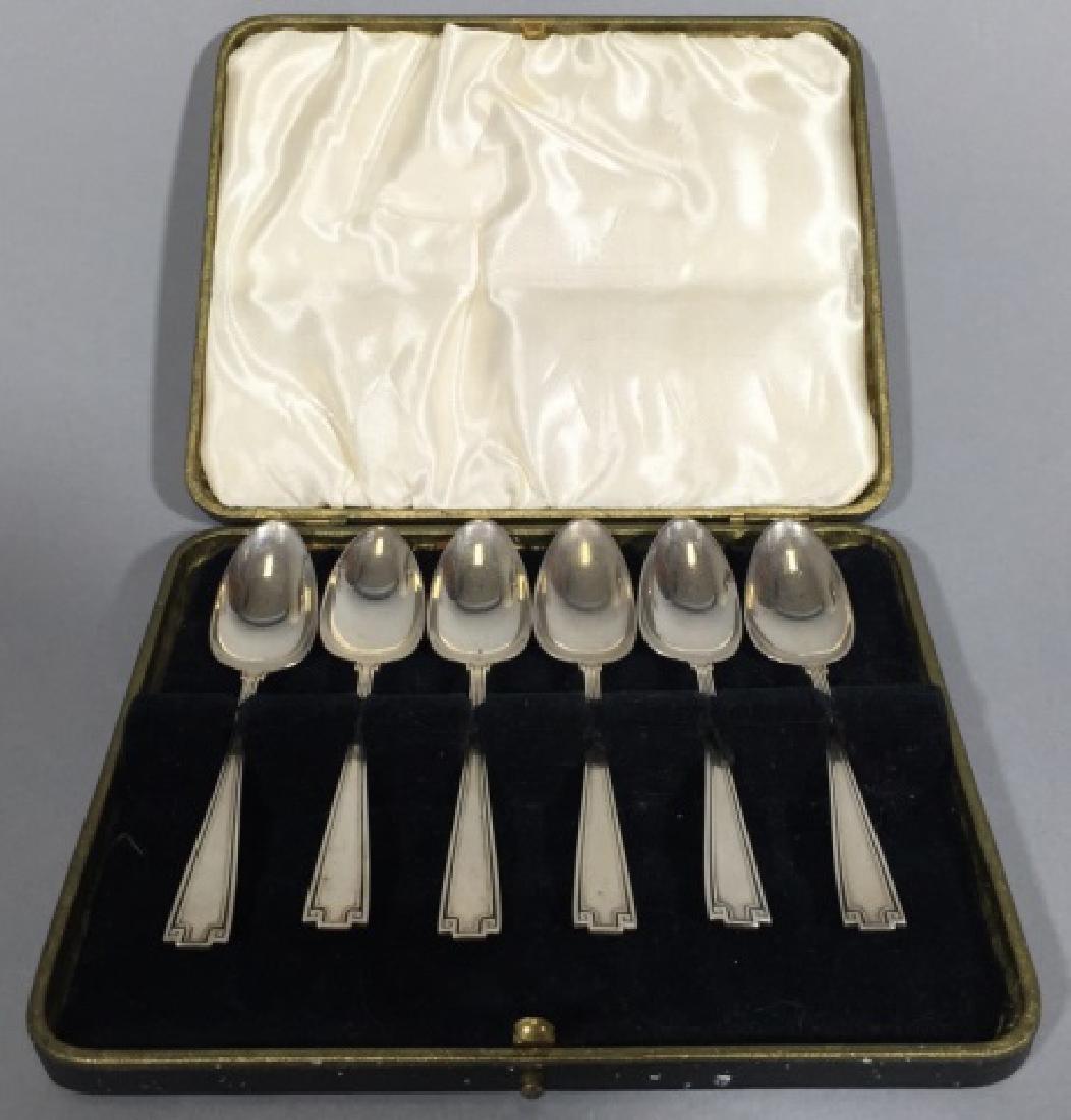 Boxed Set Gorham Sterling Silver Demitasse Spoons