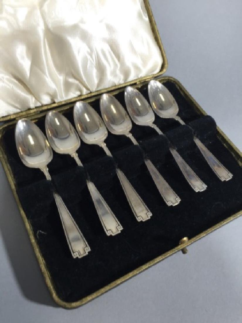 Boxed Set Gorham Sterling Silver Demitasse Spoons - 4