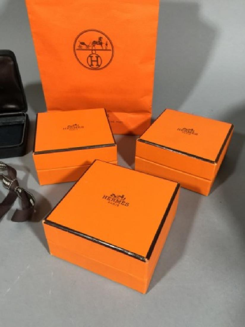 Hermes / Tiffany & Co Authentic Jewelry Boxes - 2