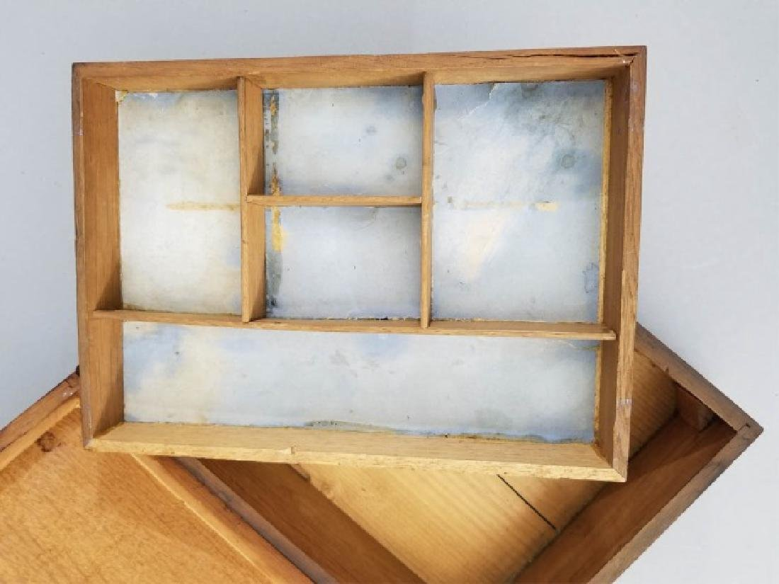 Antique 19th C Four Leaf Clover Motif Jewelry Box - 3