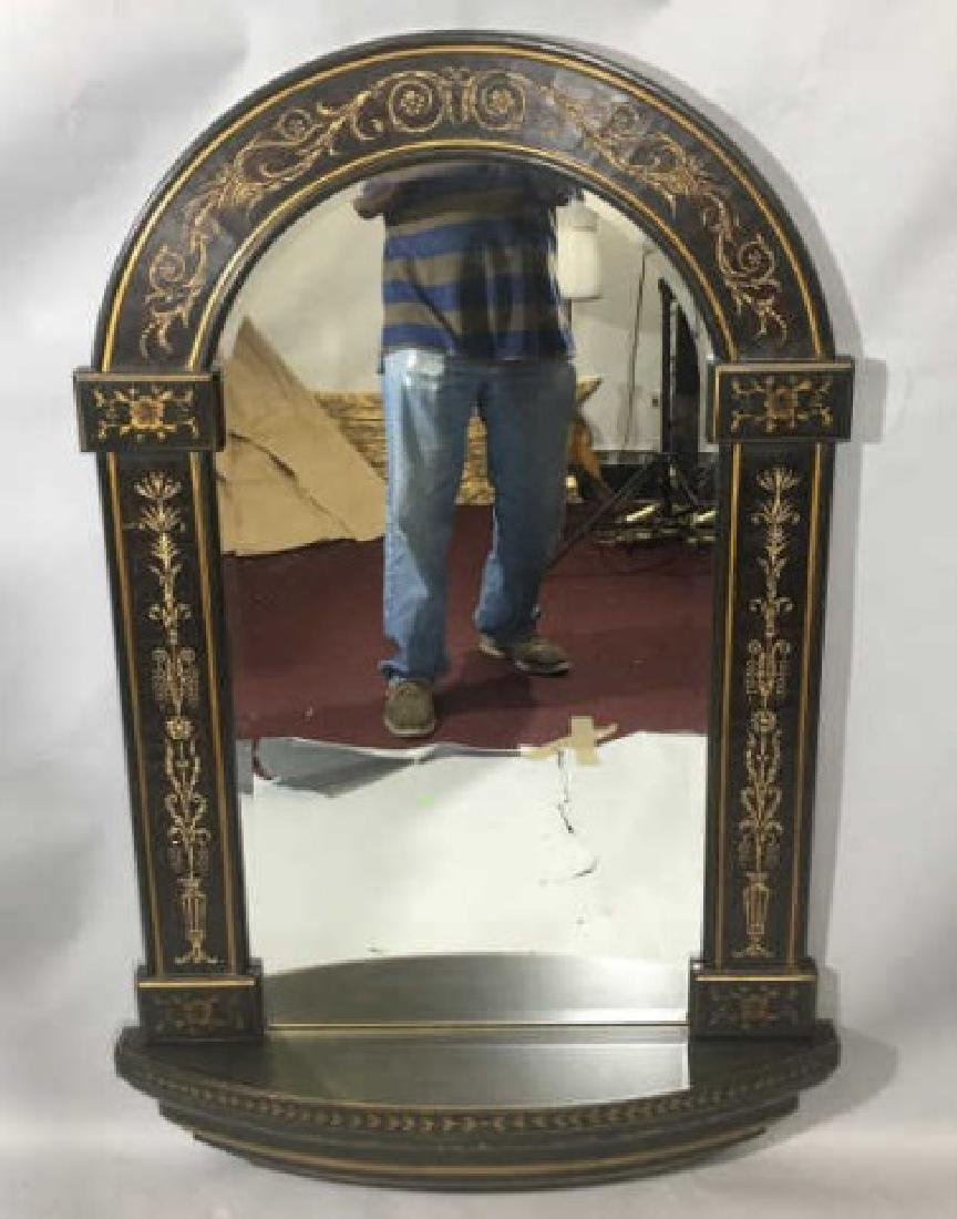 Neo Classical Style Arched Top Wall Mirror - 4