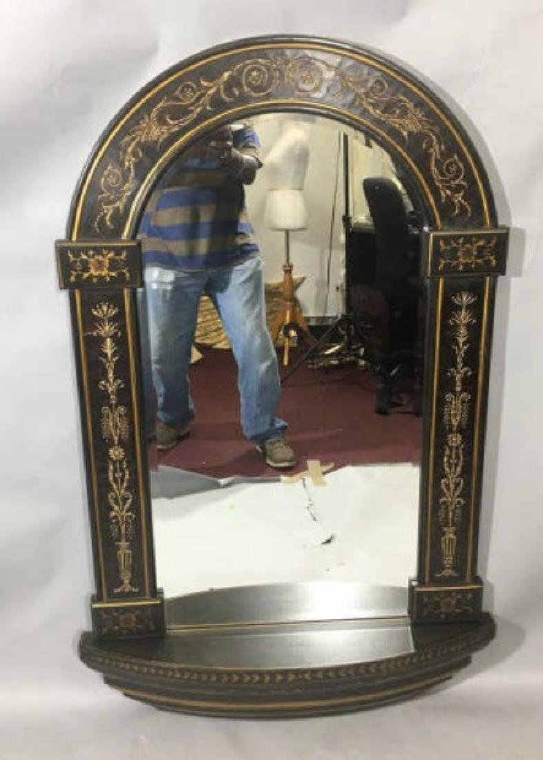 Neo Classical Style Arched Top Wall Mirror - 5