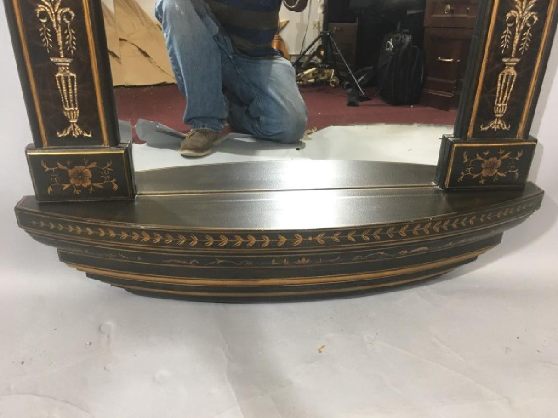 Neo Classical Style Arched Top Wall Mirror - 8
