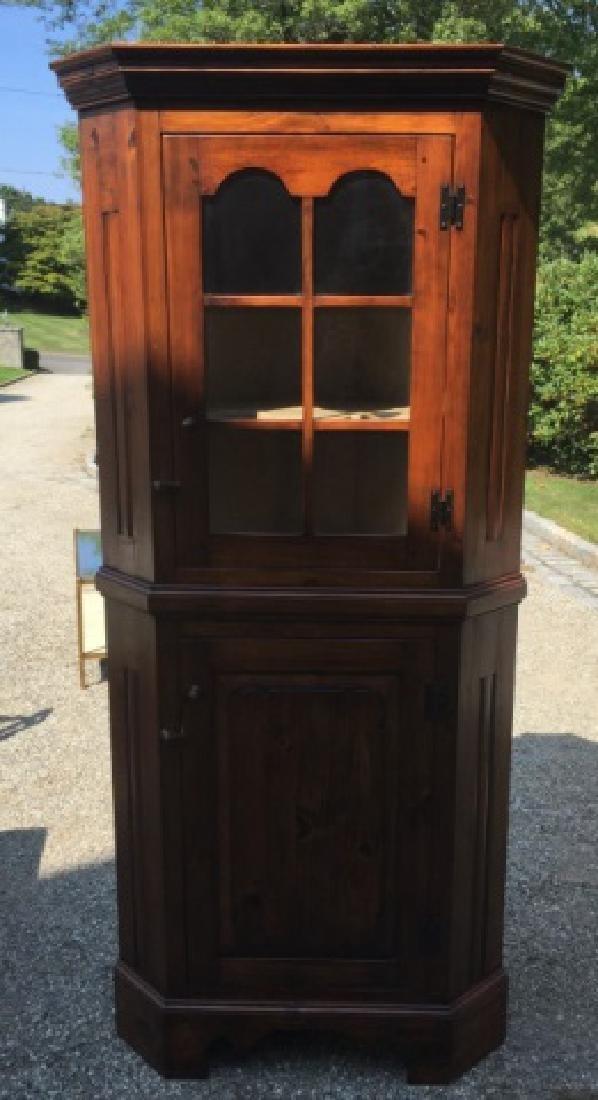Stephen Von Hohen Handmade Corner Cabinet