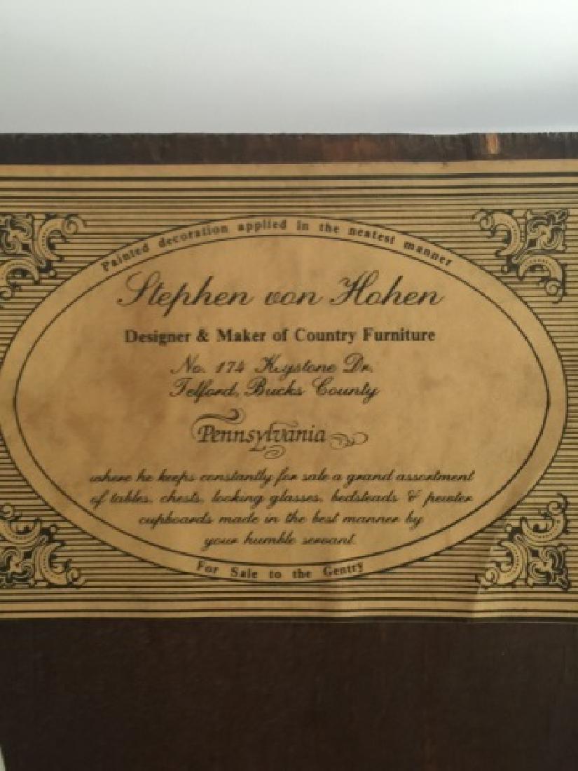 Stephen Von Hohen Handmade Corner Cabinet - 3