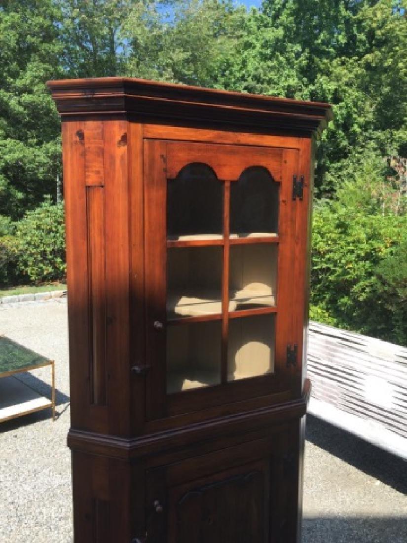 Stephen Von Hohen Handmade Corner Cabinet - 5