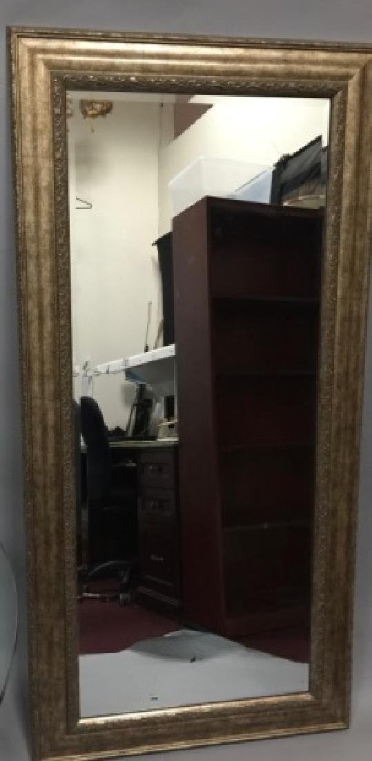 Contemporary Full Length Framed Mirror