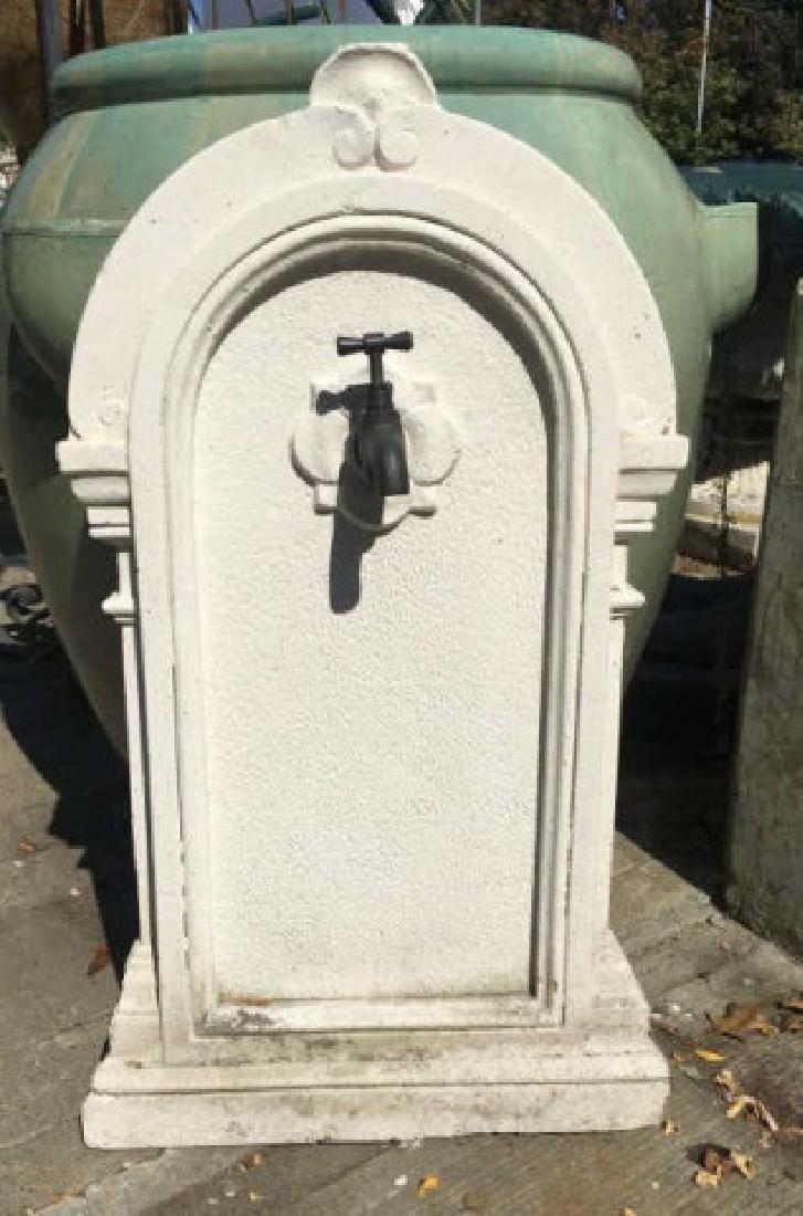 Antique Panel for a Garden / Outdoor Fountain