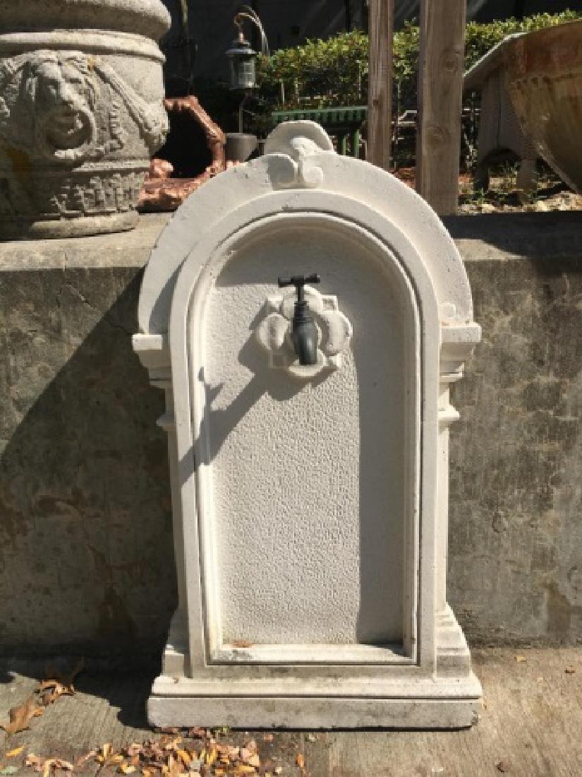 Antique Panel for a Garden / Outdoor Fountain - 2