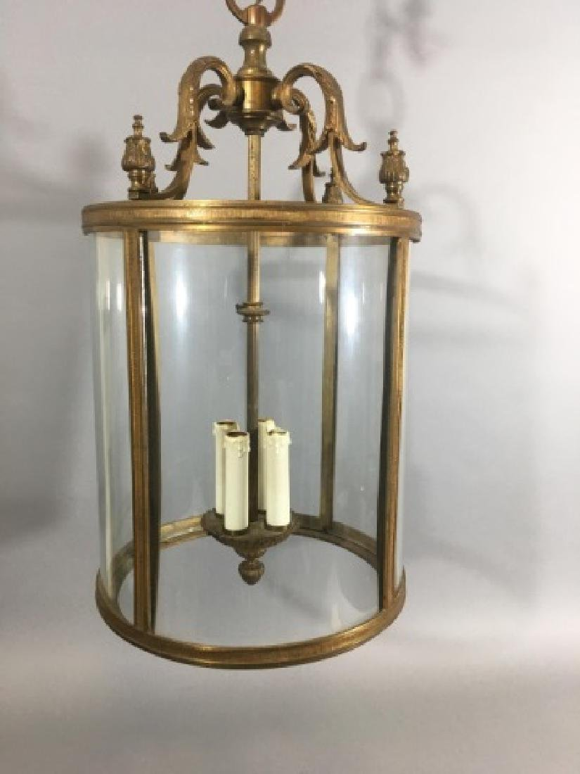 Contemporary Neo Classical Lantern Chandelier