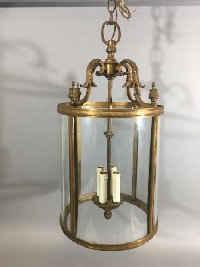 Contemporary Neo Classical Lantern Chandelier - 2