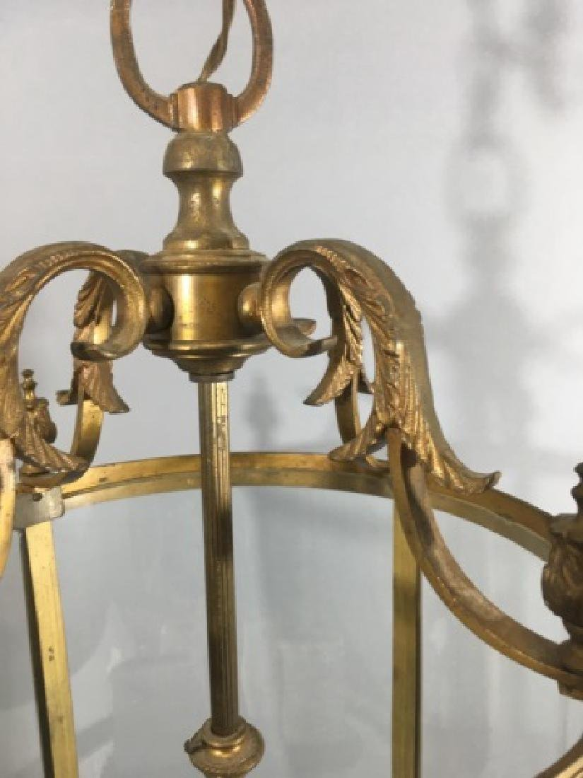 Contemporary Neo Classical Lantern Chandelier - 5
