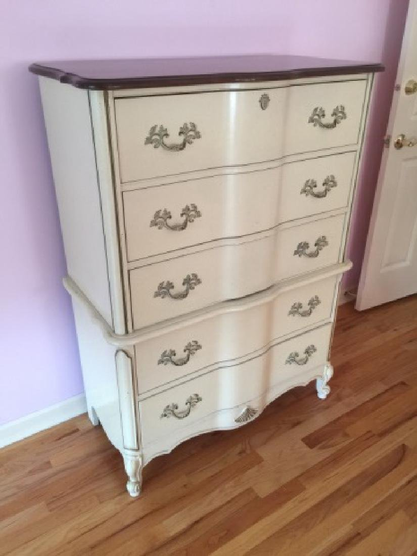 French Country Provencal Style Chest of Drawers